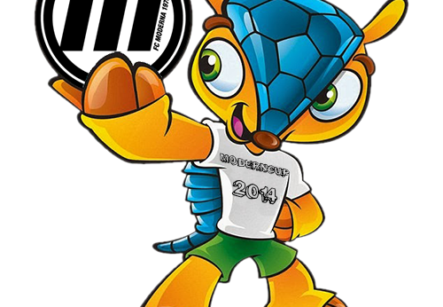 mascotte morderncup 2014
