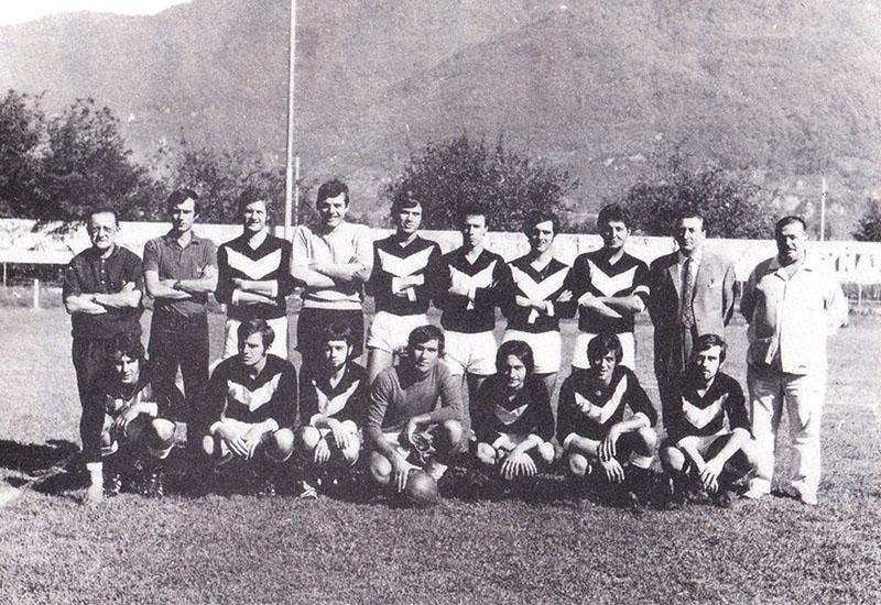 Prima formazione FC Moderna 1970
